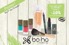Boho, la cosmétique bio sur Santédiscount !