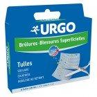URGO BRULURES BLESSURES SUPERFICIELLES TULLE STERILE 5CM X 5CM 6 UNITES