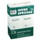KEOPS DEODORANT STICK LOT DE 2 X 40ML