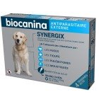 BIOCANINA SYNERGIX GRAND CHIEN 20 A 40KG 4 PIPETTES