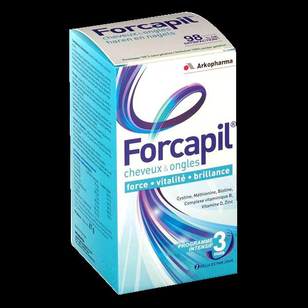 Forcapil Cure de 3 mois 180 gélules
