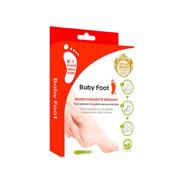 Bloomup Baby Foot Masque Exfoliant 2 chaussettes