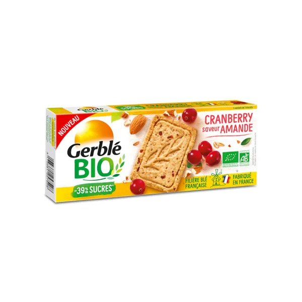 Gerble Bio Cranberry Saveur Amande