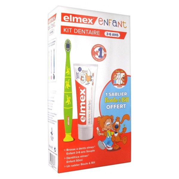Elmex Kit Dentaire Enfant 3-6 ans