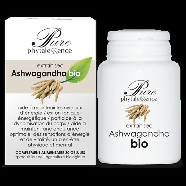 Phytalessence Ashwaganda Bio 30 gélules