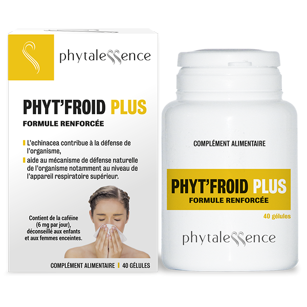 Phytalessence Phyt'Froid Plus 40 gélules
