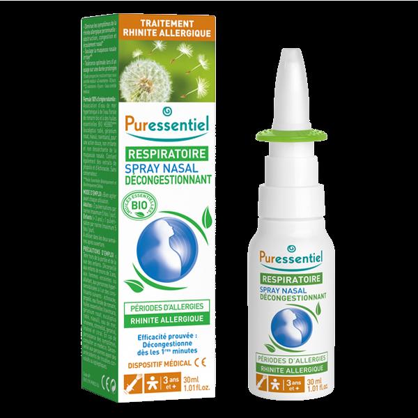 Puressentiel Respiratoire Spray Nasal Decongestionnant Allergies