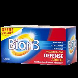 Bion 3 Adulte 90 comprimés pas cher