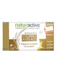 Doriance Solaire et Anti-age Lot de 2 x 60 capsules