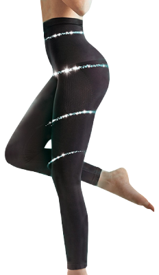 Lytess Legging Ventre Plat Minceur Flash SM Noir