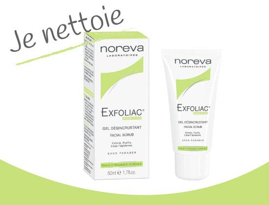 Advantix Exfoliac Gel désincrustant 50ml