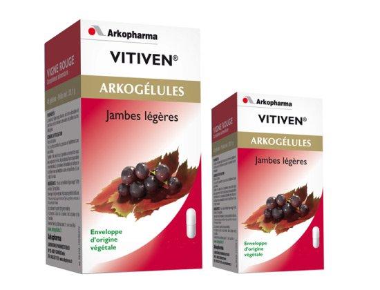 Arkogélules Vigne Rouge Vitiven 150 gélules + 45 gélules offertes